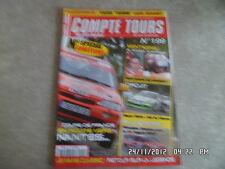 COMPTE TOURS N°199 AOUT 2006 SCHATZ RITCHEN C4 WRC   D6