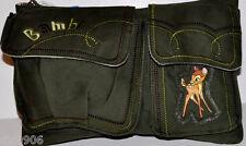 "Walt Disney Bambi Fanny Pack Waist Bag Purse 11""x 7"" Bag-NEW with Tags!"
