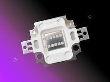 380nm - 390nm UV - A Schwarzlicht 10W High Power LED 10 Watt Hi-Power COB -700mA