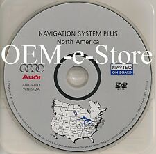 2005 2006 2007 Audi A3 A4 S4 RS4 Quattro Avant Navigation OEM DVD Map U.S Canada