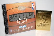 SCOTTIE PIPPEN 1988-89 Fleer ROOKIE 23KT Gold Card BLACK SIGNATURE INSERT