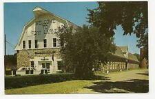FORT LARNED KS Enlisted Men's Barracks Vtg Postcard