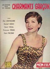 Mon Film Spécial Mars 1958 - Charmants Garçons, Zizi Jeanmaire Daniel Gélin