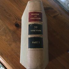 The Federal And State Constitutions Colonial Charter of The United States Part 1