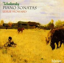Tchaykovsky: sonate Per Pianoforte N.1, 2, Gran Sonata / Leslie Howard - CD