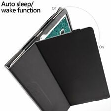 Case For Apple iPad Pro 10.5 Poetic【SlimFolio】Slim Leather Stand Folio Case BLK