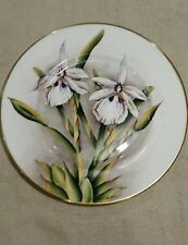 Studio DRB Devon, Limited Edition Exotic Flower Plate by David R Burkett