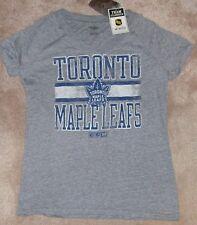NEW NHL Toronto Maple Leafs T Shirt Throwback L Large Women Ladies NEW NWT