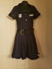 Cop Cutie Girls Halloween Costume Complete Set Size Large 12-14