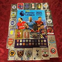 PANINI 2021 STICKER COLLECTION - NEWCASTLE UNITED - SOLD AS SINGLE STICKERS