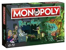 Monopoly - Rick and Morty | Brettspiel | DEUTSCH | NEU