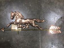 Good Directions Home Decor Trotting Horse Stallion Mantel Weathervane Sculpture