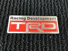 NEW TOYOTA TRD RACING SPORT TRUNK TAILGATE I FENDER EMBLEM LOGO BADGE DECAL #1