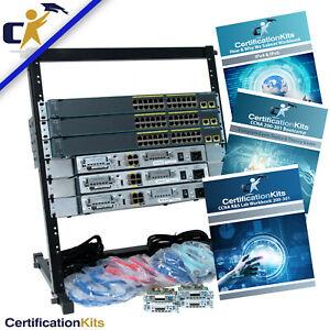 Cisco CCNA 200-301 Standard Lab Kit IOS 15*Rack & 1 Yr Wty