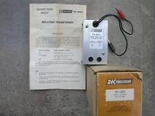B+K Cb Radio Isolation Transformer Bos Instructions Audio Bk Tr-200