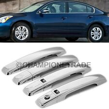 US Chrome Side Door Handle Cover For 04-08 Nissan Maxima Altima Sentra Quest CT