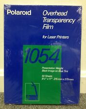 Polaroid 1054 Overhead Transparency Film for Laser Printers 50 Sheets BRAND NEW