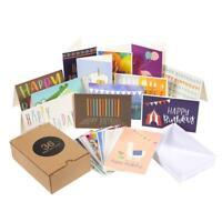 Birthday Card - 36-Pack Birthday Cards Box Set, Happy Birthday Cards - Unique