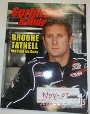 SprintCar & Midget Magazine Brooke Tatnell November 2007 020915R