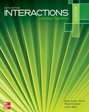 Interaction Access Listening/Speaking Student Book Plus Registration Code for...