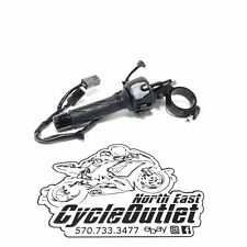 2017 17 18 19 20 GSXR1000R GSXR1000 OEM LEFT CLIP ON CLIPON HANDLEBAR W/ SWITCH