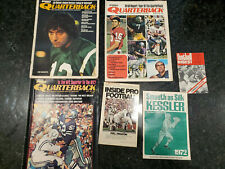 Football Books & Magazines, Lot of 6, Early 1970's