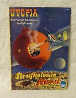 UTOPIA Zukunftsroman Nummer 1 selten Original von 1953