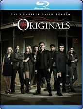 THE ORIGINALS - COMPLETE SEASON 3 - BLU RAY -  Region free for UK