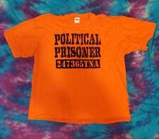Sheik Abdul Bashir Political Prisoner 2XL T-Shirt TNA IMPACT Wrestling Daivari
