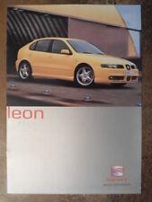 SEAT LEON CUPRA 4 orig 2001 UK Mkt Sales Brochure