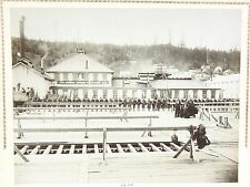 Photo - National Guard Formation June 1896 at Astoria Oregon Fisherman's Strike