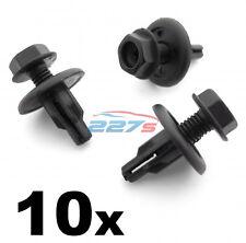 10x 8mm Screw Fit Engine Undertray & Radiator Shield Clips- Honda 91516-SK7-013