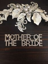 Bride Brooch Wedding Shower Party Jewelry Pin Rhinestone Mother Of