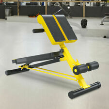 Soozier USA91-075YL0131 Multi-Functional Hyper Extension Bench Dumbbell Bench