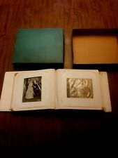 Vintage Antique 1950s Professional Wedding Photo Album Black & White Pictures