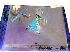 4- cel Setup Batman Penguin Original Production Filmation Robin Gotham art