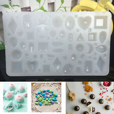 Silicone Pendant Mold Making Jewelry Resin Necklace Mould Craft DIY Tool New