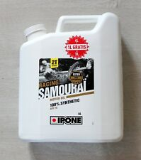 HUILE MOTEUR MOTO 2T  IPONE SAMOURAI 100% SYNTHESE RACING- 5L