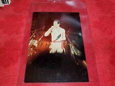 Vintage Snapshot Photo Of Freddie Mercury Of Queen In Concert Rare !