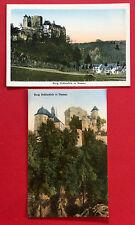 2 x AK NASSAU Rheinland um 1930 Burg Hohlenfels  ( 10315