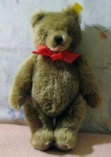 Minty Steiff Original Caramel Teddy Bear, 0202/26 Jointed, late 1970's Linen Tag