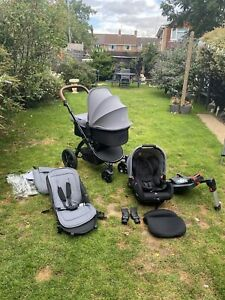 Ickle Bubba Stomp V3 All in one Travel System with Isofix base *VERY GOOD COND*