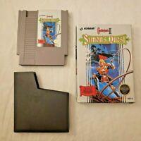 Castlevania II: Simon's Quest - Nintendo NES - AUTHENTIC GAME AND ORIGINAL BOX!