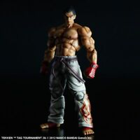 Play Arts Kai Tekken Tag Tournament 2 Mishima Kazuya Action Figure Model Statue