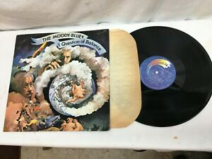 THE MOODY BLUES - A QUESTION OF BALANCE  - LP Very Good Free shipping