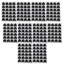 10 Sheets Black Self Adhesive Photo Frame Corner Picture Scrapbook Album DIY