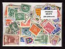 France neufs 300 timbres différents