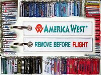 Keyring AMERICA WEST Airlines Remove Before Flight keychain