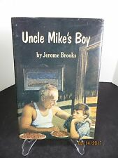 Vintage Uncle Mike's Boy by Jerome Brooks Hardback book 1973 First edition w/DJ