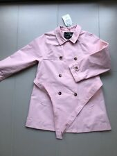 "Neuf *** IMPERMEABLE/MANTEAU fille ""ZARA"" Taille 152 - 11-12 ans  Rose Pal"